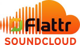 Soundcloud + Flattr