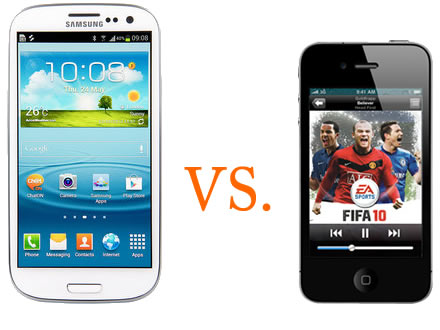 Samsung Galaxy S3 Vs. Apple iPhone 4S