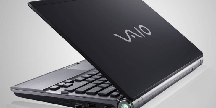 Sony Vaio notebook computer