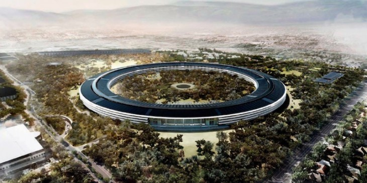 Apple 'mothership' campus design